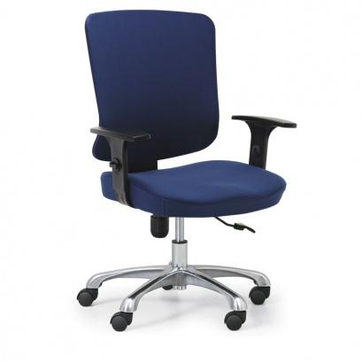 Kancelářská židle HILSCH 1+1 ZDARMA, modrá