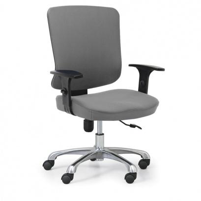 Kancelářská židle HILSCH 1+1 ZDARMA, šedá