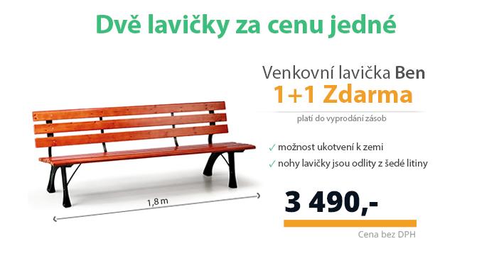 lavička 1+1