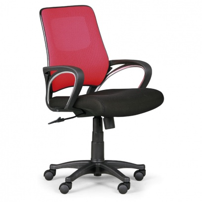 Kancelářská židle SOLO 1+1 ZDARMA - červená