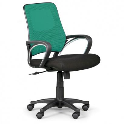 Kancelářská židle SOLO 1+1 ZDARMA - zelená