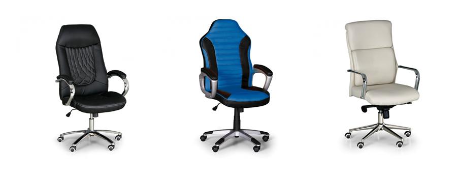 Kancelářské židle akce 1+1 ZDARMA