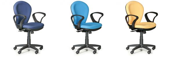 Kancelářské židle Lea 1+1 Zdarma
