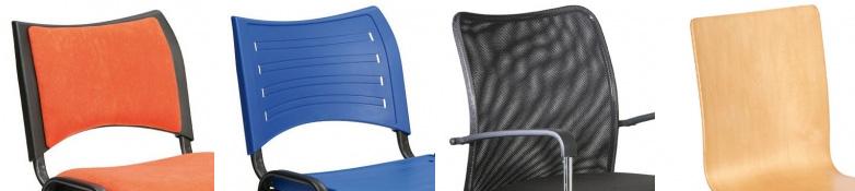 Konferenční židle - materiál
