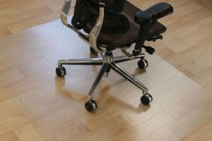 Podložky pod židli na hladké podlahy (linoleum, plovoucí podlahy, parkety, dlažbu)