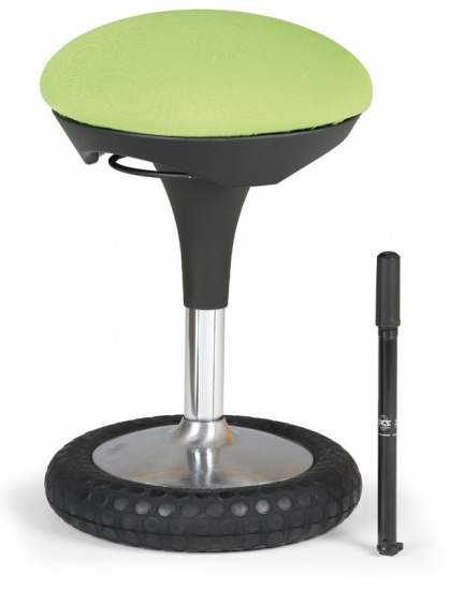 Zdravotná stolička Hover, zelená