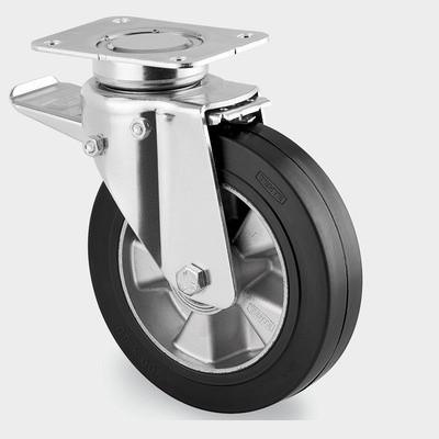 Priemyselné koleso s nosnosťou 300 kg, priemer kolesa 125 mm