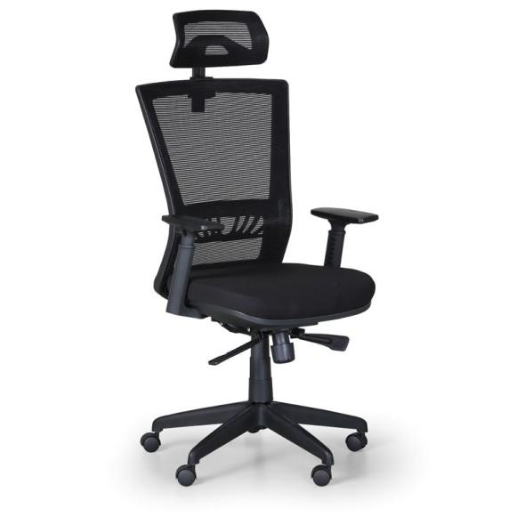 Kancelárska stolička Almere, čierna