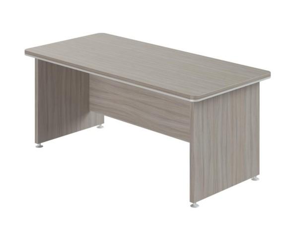 Kancelársky stôl WELS,  2000 x 850 mm, dezén dub sivý