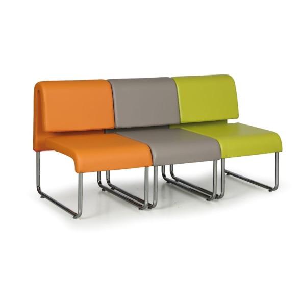 Sofa Public, oranžová