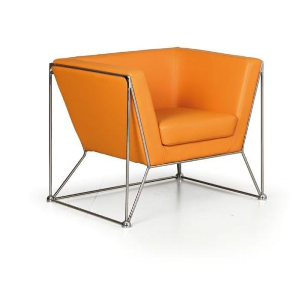 Kreslo Net, oranžová