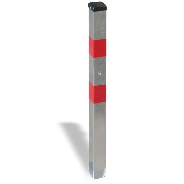 Parkovacia zábrana - stĺpik, nesklopný, na zabetónovanie, pozink