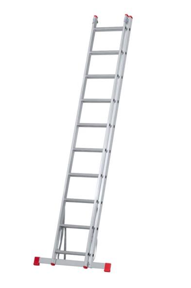 Dvojdielny viacúčelový rebrík HOBBY, 2 x 10 priečok