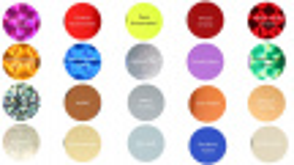 Magnetické pásky pre plánovacie tabule, 600x15 mm, súprava II, mix metalických farieb, 20 ks