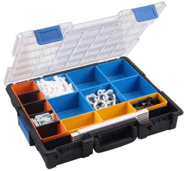 Profesionálne kufre na drobné diely, 10 škatuliek