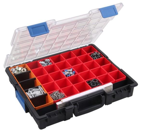 Profesionálne kufre na drobné diely, 31 krabičiek