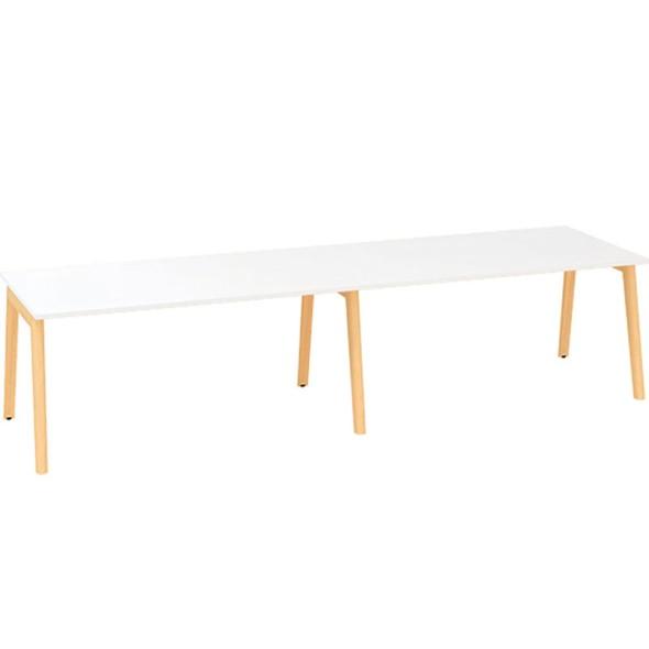 Konferenčný stôl ROOT 3200 x 1000 mm, biela