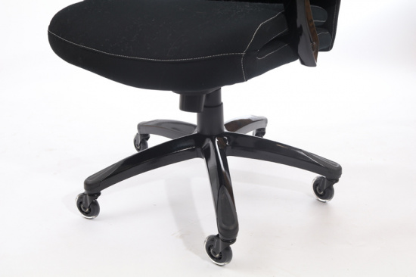 Záťažové kolieska pre kancelárske stoličky CONFFICE, súprava 5 ks