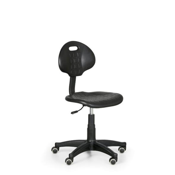 Dielenská pracovná stolička PUR, 1+1 zadarmo