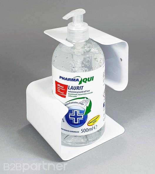 Držiak na stenu s dezinfekčným gélom 500 ml