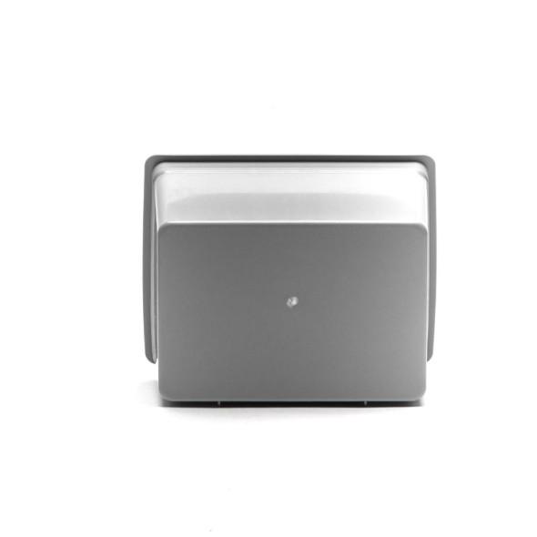 Plastové závesné boxy PIXINA, 175 x 140 x 115 mm, sivý