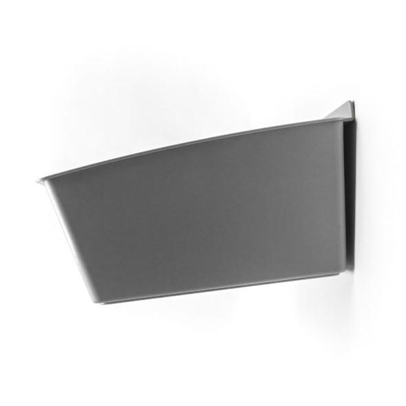Plastový box Pixa, sivý