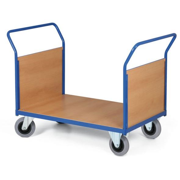 Plošinový vozík - 2 madlá s výplňou, plošina 1000 x 700 mm, 200 kg