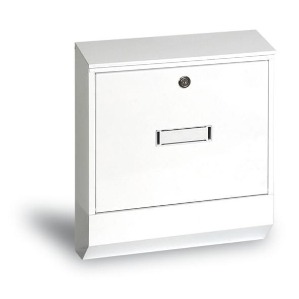 Vonkajšia poštová schránka, biela