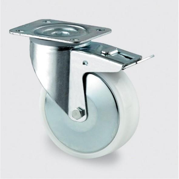 Polyamidové kolesá s nosnosťou 350 kg, priemer kolesa 160 mm