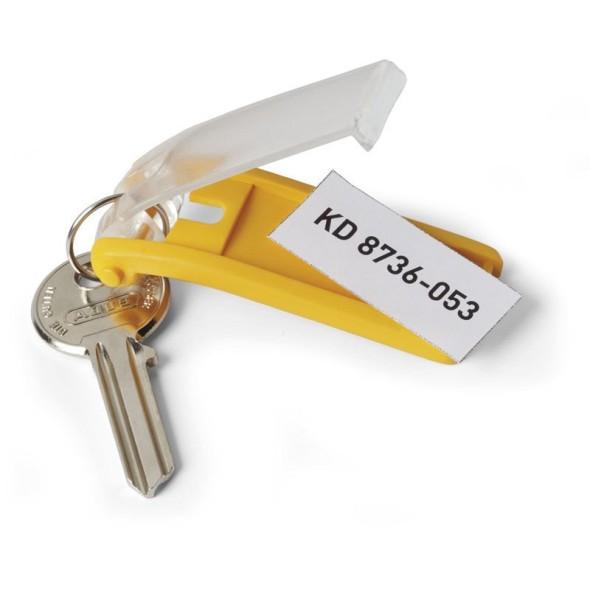 KEY CLIP kľúčenka, žltá