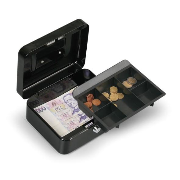 Prenosná pokladňa - 90 x 200 x 160 mm, čierna