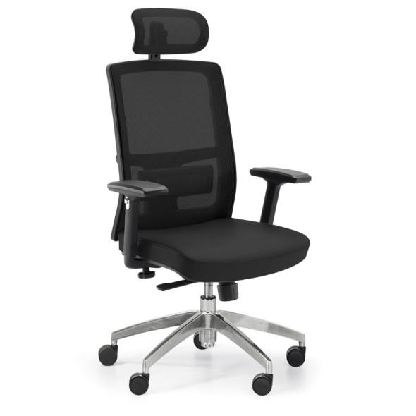 Kancelárska stolička Ned MF 1+1 ZADARMO, čierna