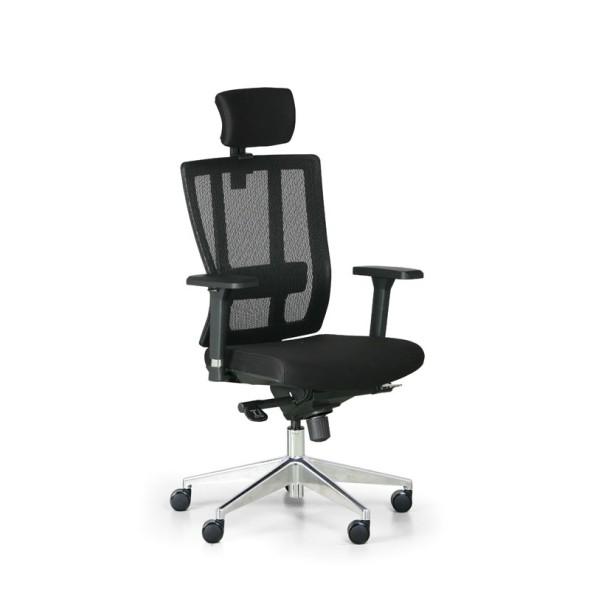 Kancelářská židle METRIM, černá