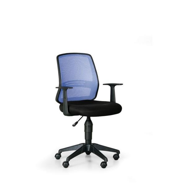 Kancelářská židle EKONOMY, modrá