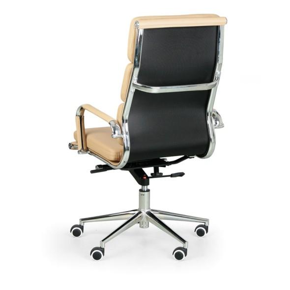 Kožená kancelářská židle KIT CLASSIC, černá