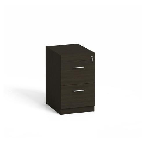 Dřevěná zásuvková kartotéka A4, 2 zásuvky, wenge