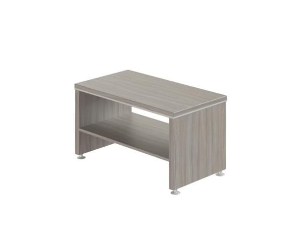 Konferenční stolek WELS, 900 x 500 x 500 mm, dub šedý