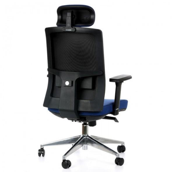 Kancelářská židle NED F, Akce 1+1 ZDARMA, modrá