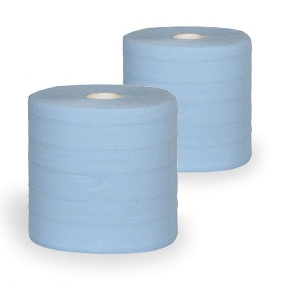 Papírové čistivo v rolích EKONOMIK, 4 vrstvé, délka 157 m, 2 role
