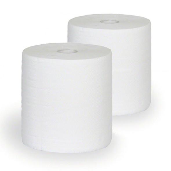 Papírové čistivo v rolích LUX, šíře 235 mm, délka 140 m, 2 role