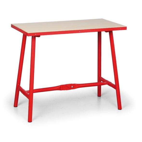 Skládací dílenský stůl, 1005 x 505 x 845 mm