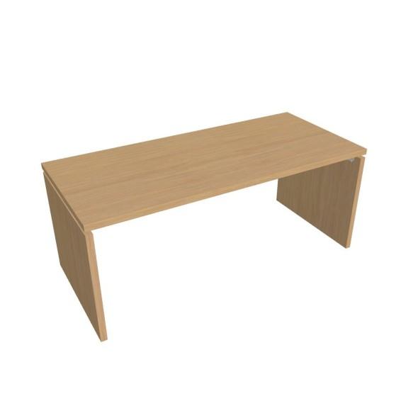 Kancelářský stůl ASSIST, 1800 x 800 mm, dezén přír. sv. dub