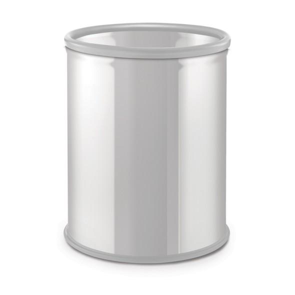 Odpadkový koš 7 L, lakovaný bílý