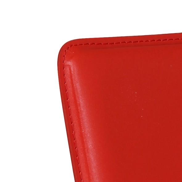 Jídelní židle Caprio, červená, 3+1 ZDARMA