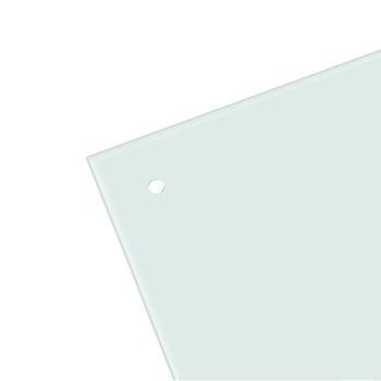 Skleněná magnetická tabule, bílá, 50x35 cm