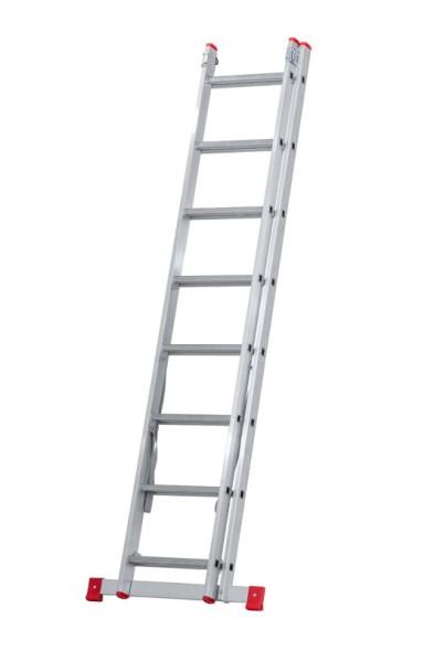 Dvoudílný žebřík 2x8