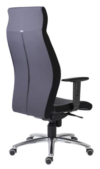 Dispečerské křeslo MEGA Plus, černá