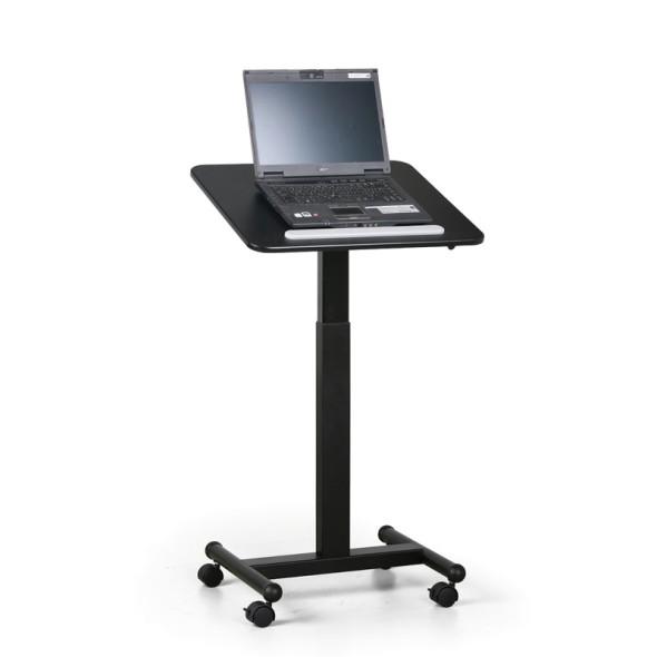 Výškově nastavitelný mobilní stolek