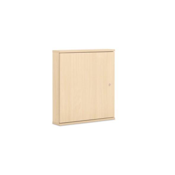Skříňka na klíče z laminované dřevotřísky, 100 klíčů