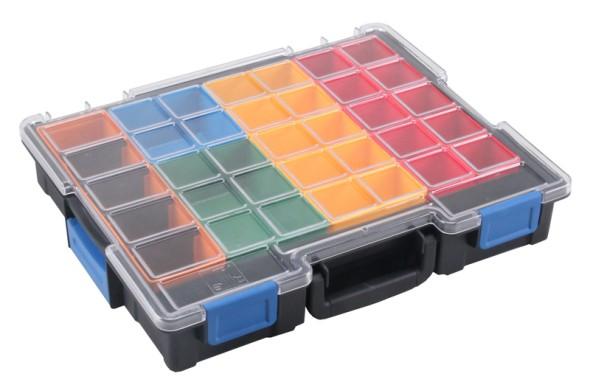 Profesionální kufry na drobné díly, 18 krabiček